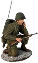 US 101st Airborne Kneeling with Radio PREORDER