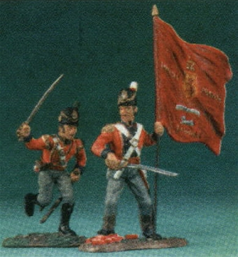 British Guards Command Unit - 1 set in stock!
