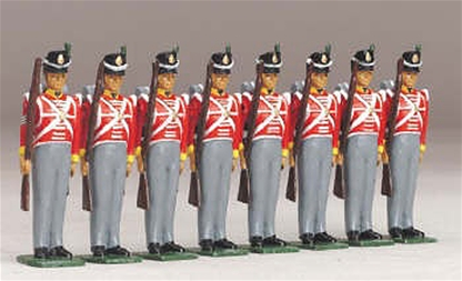 1818 British Infantry - 44th foot