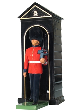Scots Guard with Sentry Box - only 3 in stock!