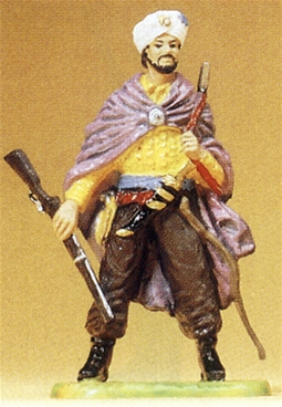 Arab / Janissary Chief with Rifle and Shotgun