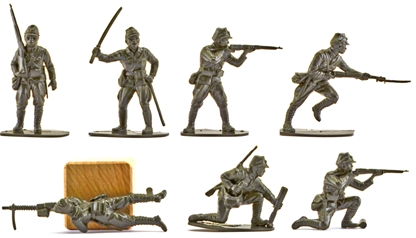 WWII Japanese Infantry - green color