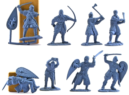 Norman Warrior Set #2 - very low stock!