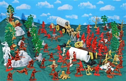 Forest Ambush! - French and Indian War Playset #2