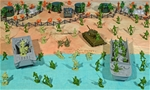 WW II Pacific Campaign Playset #1 - Beach Landing