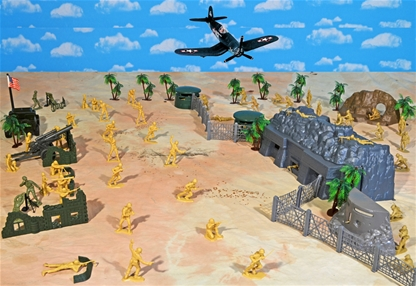WW II Pacific Campaign Playset #2 - Island Battle