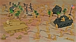 WW II North Africa Playset #2 - Patton vs Rommel