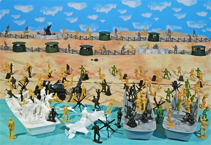 WW II D-Day Playset #1 - Hit the Beach