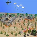 WW II D-Day Playset #3 - War from Above
