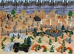 WWII Battle of the Bulge #1 Bastogne Forest Battle