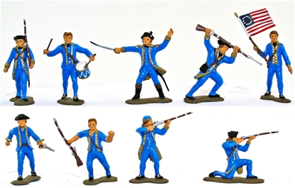 1776 Colonials - Basic painted