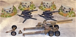 Marx-TCT WWII Artillery Bundle - Fully painted