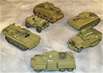 Marx-BMC WWII U.S. Armor Bundle - Fully painted