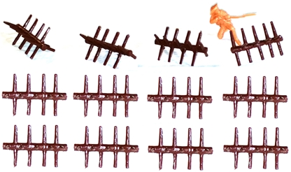 Chevaux de Frises - set of 12