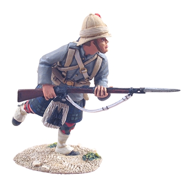 British 42nd Highlander Charging #1