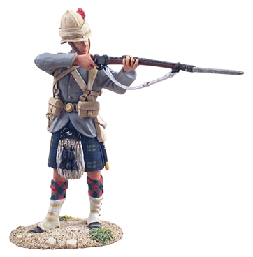 British 42nd Highlander Standing Firing #1