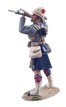 British 42nd Highlander Lunging with Rifle #1