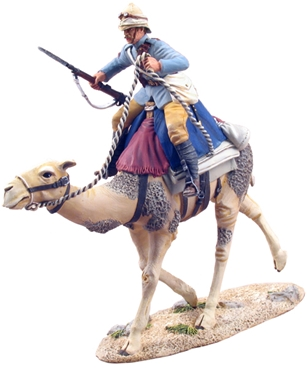 British Camel Corps Trooper - Charging #1