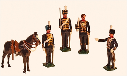 3rd - King's Own - Hussars 1890