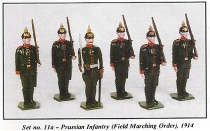 Prussian Infantry 1914 Set #2