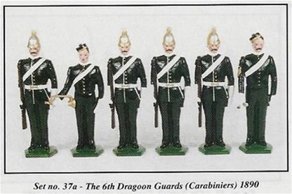 The 6th Dragoon Guards - Carabiniers 1890