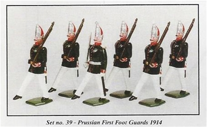 Prussian First Foot Guards 1914
