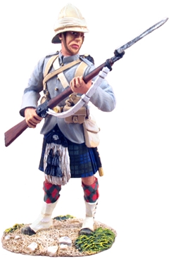British 42nd Highlander At-The-Ready #1
