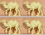 Camels - set of 4 - use with Reamsa, Jecsan