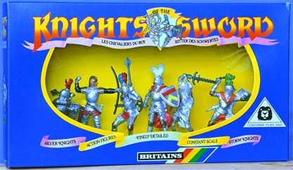 Britains Deetail 7 Silver Knights 1st & 2nd Series