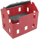 WW II French Farmhouse - red color