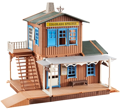 Western Train Station - retired - low stock
