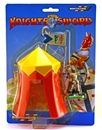 Jousting Tent and Foot Knight Set