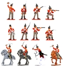 1815 British Infantry & Cavalry - Painted retired