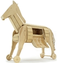 The Trojan Horse - wooden kit requires assembly
