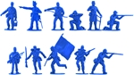 Union Infantry #1 - 11 in 11 poses set B