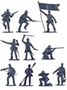 CSA Infantry/Artillery Set - 10 in 10 poses