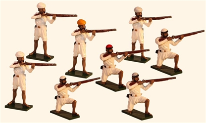 The Indian Rebellion -Standing and Kneeling Firing
