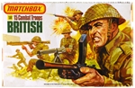 WWII British Infantry - made in England 1983