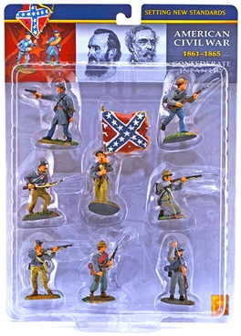 Confederate Infantry - Fully painted