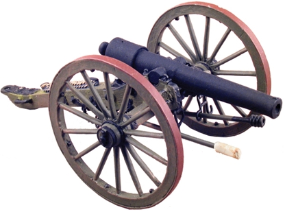 American Civil War 10 Pound Parrott Gun #1
