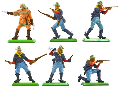 Deetail 7th Cavalry (1978) 6 in 4 poses