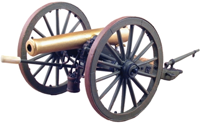 Civil War 12 Pound Napoleon Cannon #1