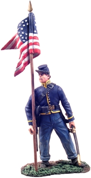 Union Cavalry Guidon Bearer Dismounted #1