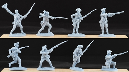 18th Century American Infantry - pre order due Sep