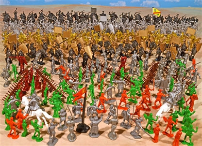 Grand Battle of Agincourt Playset