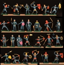 Blue Knights - 26 in 26 Poses - only 1 set!