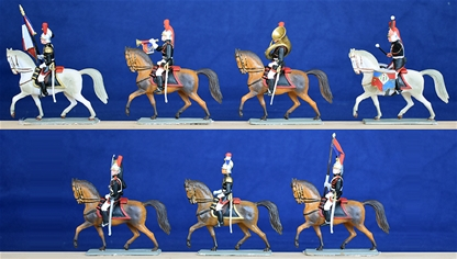 French Republican Guard - only 2 sets remain!