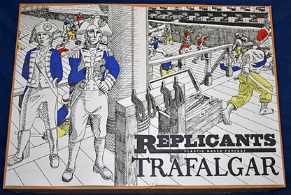 Trafalgar Playset - 1st version - MIB - Very Rare!