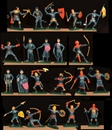 Blue Knights - 21 in 21 Poses - only 1 set!