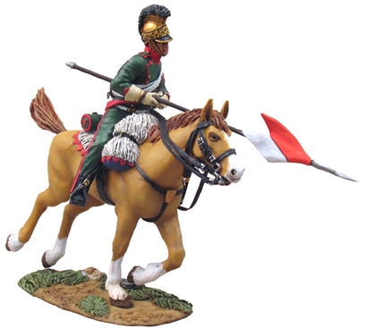 French 4th Lancer Corporal Charging #3